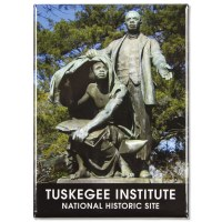 Booker T. Washington Statue Magnet