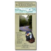 Guidemap to the Blue Ridge Parkway and Surrounding Area: Central Section