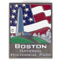 Boston National Historical Park Hiking Stick Medallion