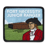 Fort Necessity Junior Ranger Embroidered Patch