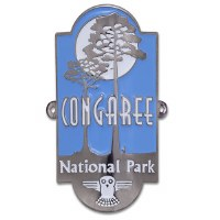 Congaree National Park Hiking Stick Medallion