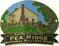 Elkhorn Tavern- Pea Ridge Hiking Medallion