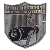 Fort Donelson National Battlefield Hiking Stick Medallion