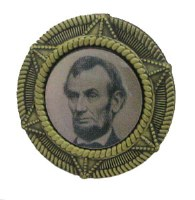 Abraham Lincoln Presidential Campaign Pin