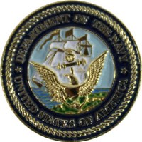 United States Navy Insignia Pin