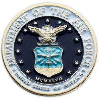 United States Air Force Seal Pin