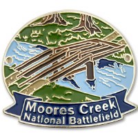 Moores Creek National Battlefield Hiking Stick Medallion