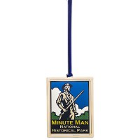 Minute Man National Historical Park Custom Ornament