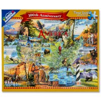 National Parks of America 1,000 Piece Puzzle