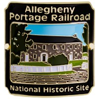 Allegheny Portage Railroad Hiking Stick Medallion