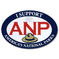 ''I Support America's National Parks'' Decal