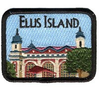 Ellis Island Embroidered Patch