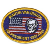 Martin Van Buren Embroidered Patch