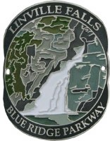 Blue Ridge Parkway: Linville Falls Hiking Medallion