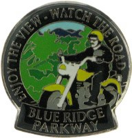 "Blue Ridge Parkway ""Watch the Road"" Lapel Pin"