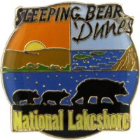 Sleeping Bear Dunes National Lakeshore Lapel Pin