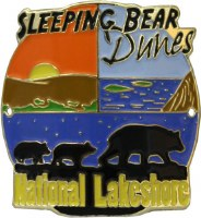 Sleeping Bear Dunes National Lakeshore Hiking Stick Medallion