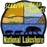 Sleeping Bear Dunes National Lakeshore Embroidered Patch