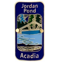 Jordan Pond Hiking Medallion