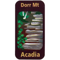 Dorr Mountain Trekking Pole Decal
