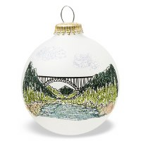 New River Gorge National River Bridge Christmas Tree Ornament