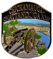 Chickamauga Chattanooga Hiking Medallion
