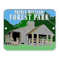 Prince William Forest Park Hiking Stick Medallion