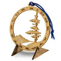 Blue Ridge Parkway Wooden Ornament