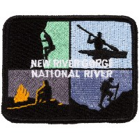 New River Gorge National River Adventures Embroidered Patch