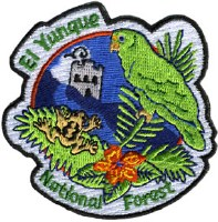 El Yunque National Forest Embroidered Patch