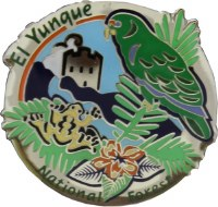 El Yunque National Forest Collectible Lapel Pin