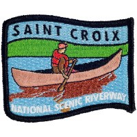 Saint Croix National Scenic Riverway Embroidered Patch