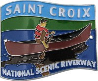Saint Croix National Scenic Riverway Hiking Medallion