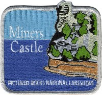 Miners Castle Embroidered Patch