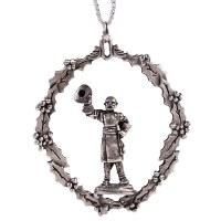 Robert E. Lee Pewter Ornament