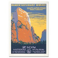 Zion National Park WPA Travel Poster