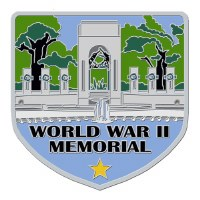 World War II Memorial Hiking Stick Medallion