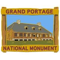 Grand Portage Lapel Pin