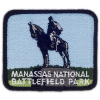 Manassas National Battlefield Park Embroidered Patch - Stonewall Jackson Monument