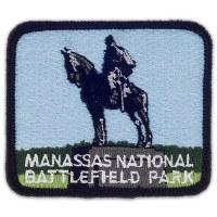 Manassas National Battlefield Park Embroidered Patch - Stonewall Jackson Monument