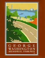 George Washington Memorial Parkway Magnet