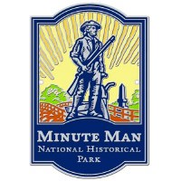 Minute Man National Historical Park Hiking Stick Medallion