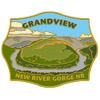 New River Gorge National River Grandview Pin