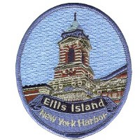 Ellis Island Patch