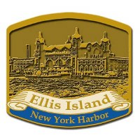 New York Ellis Island Pin