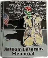 Vietnam Veterans Memorial Hiking Stick Medallion