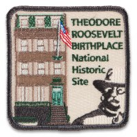 Theodore Roosevelt Birthplace National Historic Site Patch