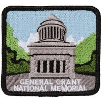 General Grant National Monument Embroidered Patch