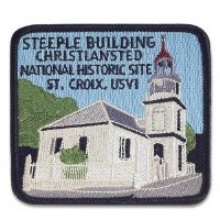 Steeple Building Christiansted NHS Patch