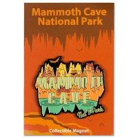 Mammoth Cave Retro Magnet